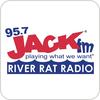 """écouter """"KPKR - 95.7 Jack FM River Rat Radio"""""""