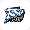 """écouter """"WGRX - Thunder 104.5 FM"""""""